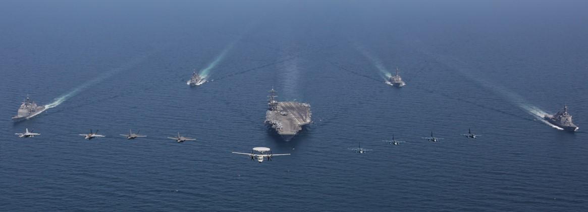 USNS Carl Brashear RAS with USS Ronald Reagan